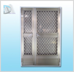 1500型不鏽鋼門組附鋁質紗門片